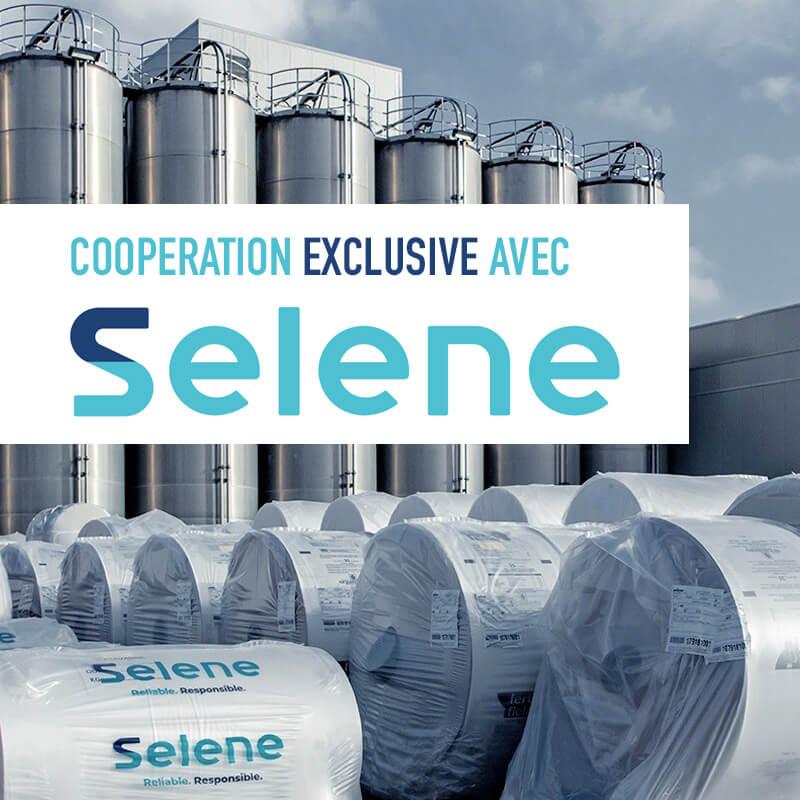Cooperation exclusive avec Selene