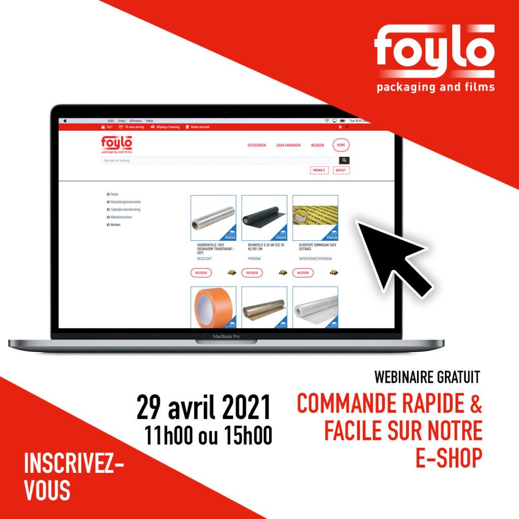 Webinaire Gratuite Foyle e-shop